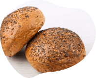 Multiseed Crusty Rolls